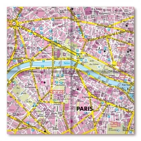 Karte Paris Stadtplan.Stadtplan Paris