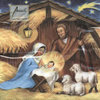 Krippe - Heilige Familie - Holy family