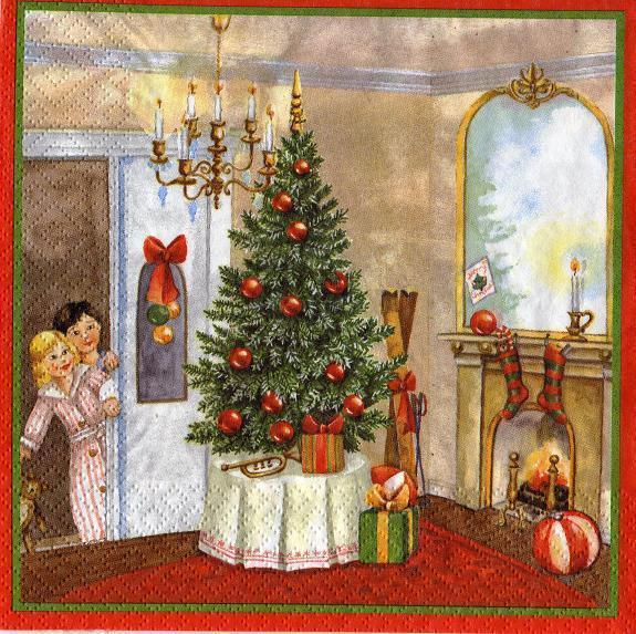 Weihnachten Nostalgisch.Heimlichkeit Zur Weihnachtszeit Nostalgie