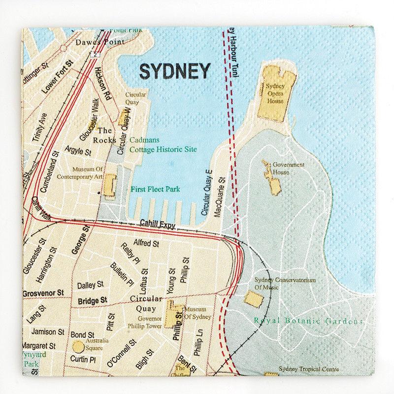 Map Sydney Australia.Sydney Australia City Map